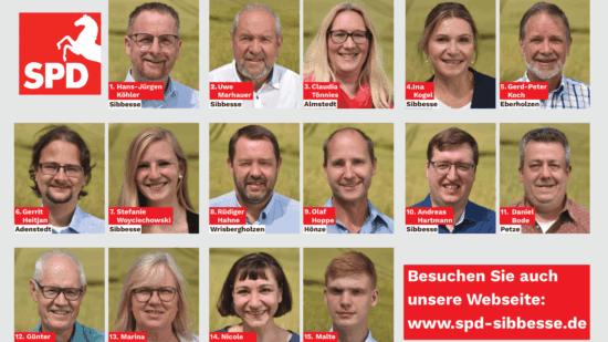 Kandidaten Gemeinderat-SPD-Sibbesse